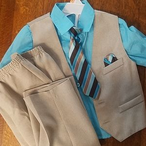 Holiday Editions Boy Toddler Suit 3t